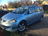 Mitsubishi Grandis 7 seater for sale . Eleven months MOT great reliable comfy car automatic
