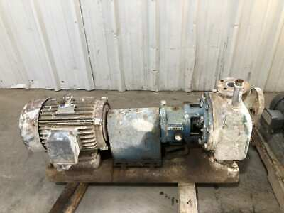 Summit Goulds Sto Stainless Self-priming Trash Pump 10hp 1-12 X 1-34