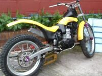Scorpa 250 easy trials competition bike,very light &trick£695 no offers.