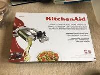 Kitchen aid spiralizer brand new
