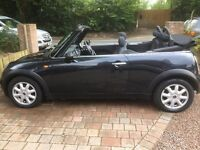 Mini One Convertible 2007 low miles, serviced, excellent condition