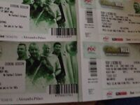 4 Dart Tickets Ally Pally . 15.12.2017, 69£ / Ticket Phil Taylor live