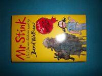David Walliams Mr Stink Hardback Book IP1