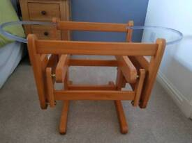 Gliding Moses basket stand (Mothercare)