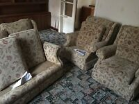 Settee three piece