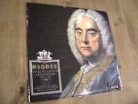 Handel 12 Grand Concertos Opus Six. 33 rpm Record. Classical. Neville Marriner. Academy St. Martin..