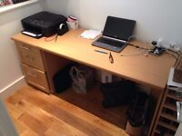 desk and 3 draws