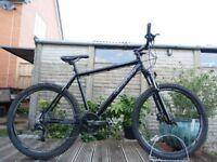 """Carrera Kraken Hardtail Mountain Bike - 20"""" Large Frame - 27 Speed - Lockout 120mm fork"""