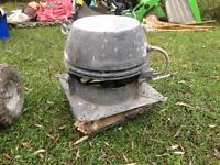 Mechanical chimney fan (for open fire)