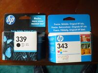 Genuine HP ink