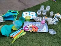Baby bottles and weaning equipment