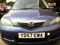 2007 Mazda 2 1.4 Diesel With low Millage and long MOT