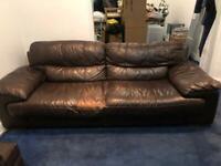 FREE Three piece leather sofas - FREE