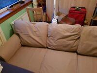 Beige Ikea sofa. Good condition
