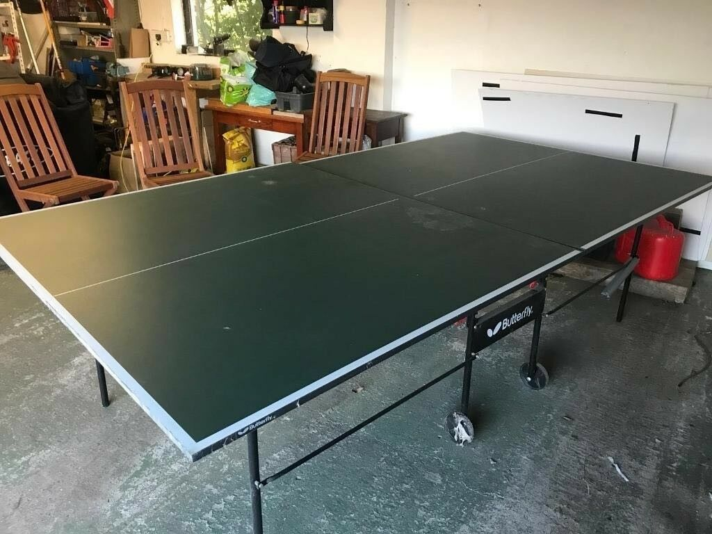 Butterfly folding table tennis system in sleaford lincolnshire gumtree - Gumtree table tennis table ...
