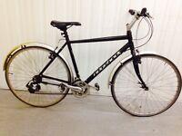 Ridgeback Hybrid Bike 18 speed Alloy Frame