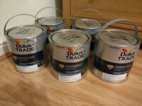 5 x 2.5 litres Dulux Trade Diamond Matt, Natural Hessian, Original price £207