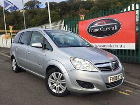 2008 08 Vauxhall Zafira 1.9 CDTi Design 5dr Turbo Diesel 6 Speed Manual 7 Seater