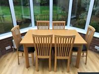 Beech dinning table