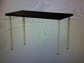 Few Weeks Old Ikea Black KLIMPEN Table Or Desk Top With Legs