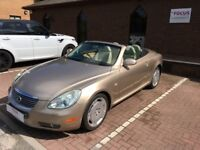 2002 02 LEXUS SC 430 AUTO 4.3 | NAVIGATION | CREAM LEATHER PLUS MUCH MORE