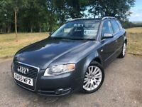 2005 55 AUDI A4 AVANT 2.0 TDi ESTATE 5 DOOR, 6 SPEED MANUAL - *MARCH 2019 M.O.T* - ONLY 2 KEEPERS!