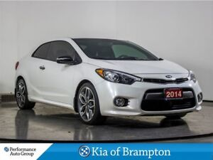 2014 Kia Forte Koup 1.6L SX. TURBO. CAMERA. ALLOYS. CLIMATE CONT