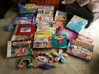 Job lot of board games and computer games