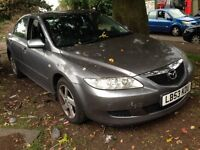 2003 Mazda 6 2.0 TS2 5dr Auto silver grey BREAKING FOR SPARES