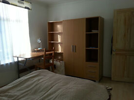 Bright furnished double in houseshare