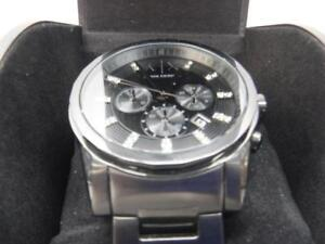 Armani Exchange Gun-Metal Watch - We Buy and Sell Watches at Cash Pawn - 116573 - JV74405
