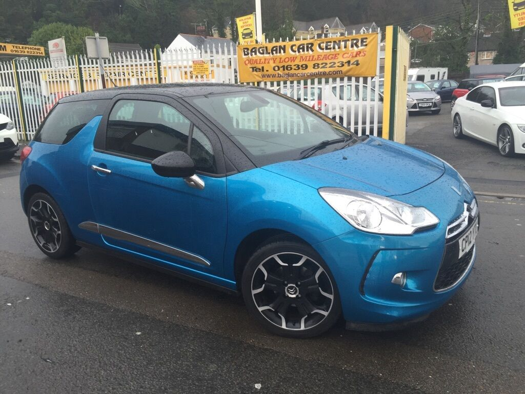 citroen ds3 1 6 e hdi airdream dstyle plus 3dr blue 2012 in baglan neath port talbot gumtree. Black Bedroom Furniture Sets. Home Design Ideas