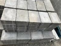 Marshalls Drivesett Tegula Pennant Grey Block Paving Slabs