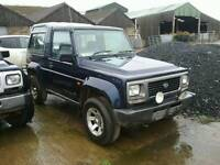 Dihatsu fourtrak x 2 4x4 off road