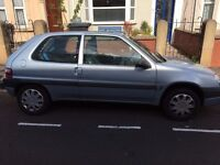 Citroen Saxo for sale in Bristol. Nice reliable little car.