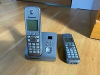 Panasonic cordless phone and answering system