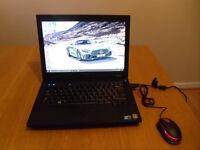Laptop Dell Latitude E5400, windows 10, 320GB HDD, 2GB RAM plus USB mouse