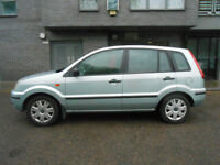 Ford Fusion 1.4 TDCi 30 pounds road tax 60mpg FULL SERVICE HISTORY cam belt like fiesta focus Diesel