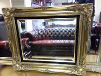 beautiful antique mirror. excellent condition.