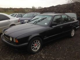 Breaking TWO BMW E34 525i facelift auto and 525i manual, sport exhaust, leacher seats, M50B25 tm