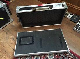 Pedal Board / Flight Case - approx 63cm x 34cm