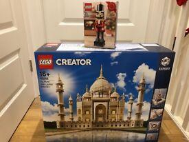 Lego 10256 Taj Mahal + 40254 Nutcracker BNIB - Sold out from Lego!