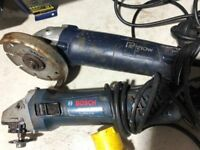 Set of grinders for spares or repairs