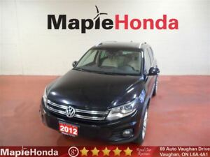 2012 Volkswagen Tiguan 2.0 TSI| Leather, Sunroof, Bluetooth!