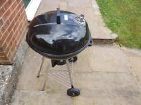Barbeque - Large Kettle Drum, used once only, excellent condition