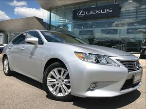 2014 Lexus ES 350 Leather and Navigation Pkg Backup Cam Sunroof