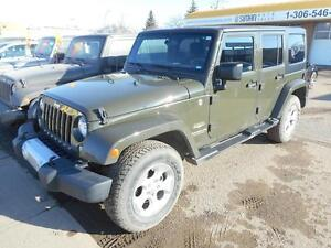 2015 Jeep Wrangler Unlimited Sahara LOW KM* NO PST*