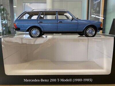 Mercedes Benz 200 T-Modell S123 Norev Modell 1:18 Limitiert 1000stk. Blau