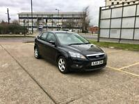 2010 FORD FOCUS 1.6 ZETEC PETROL – ONLY 74K WARRANTED MILEAGE, NEW MOT, BLACK, 5 DOOR, MANUAL