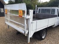 ford transit dropside body with tailift